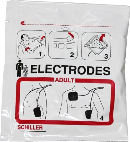 Defielektroden ERW für FRED PA-1 SCHILLER