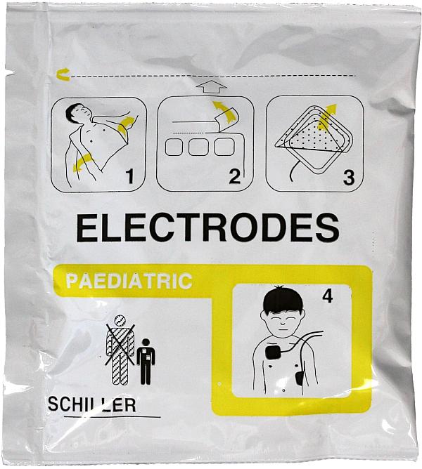 Defibrillationselektroden KIND von SCHILLER