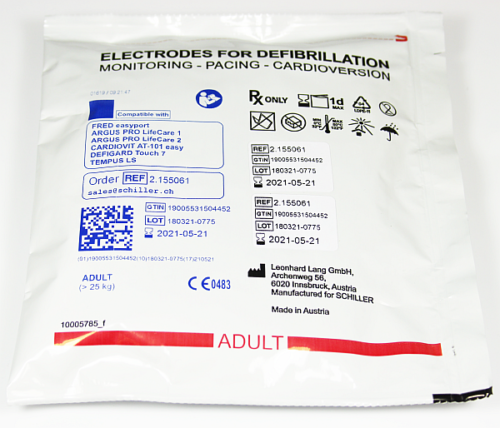 Defi Elektrode ERW, Schiller