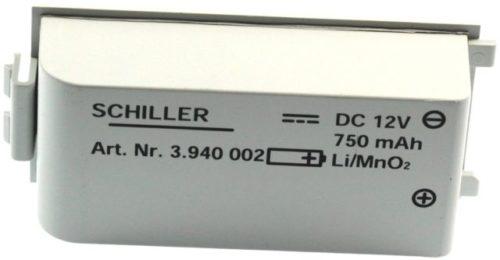 LiMnO2 Batterie zu FRED easyport SCHILLER